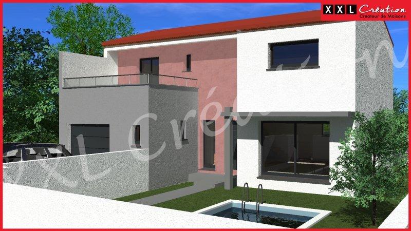 Trés bel environnement de 7 lots a Nefiach pour votre Villa de 110 m2 plein sud …